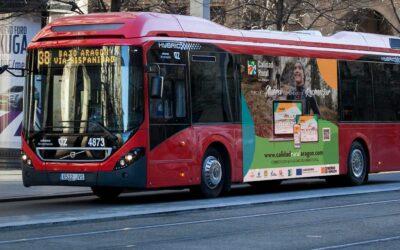 Campaña en buses y RRSS 'Ahora es momento de reconectar' para Calidad Rural Aragón